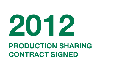 2012---production-sharing-contract-signed