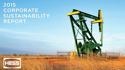 2015 Hess Corporate Sustainability Report