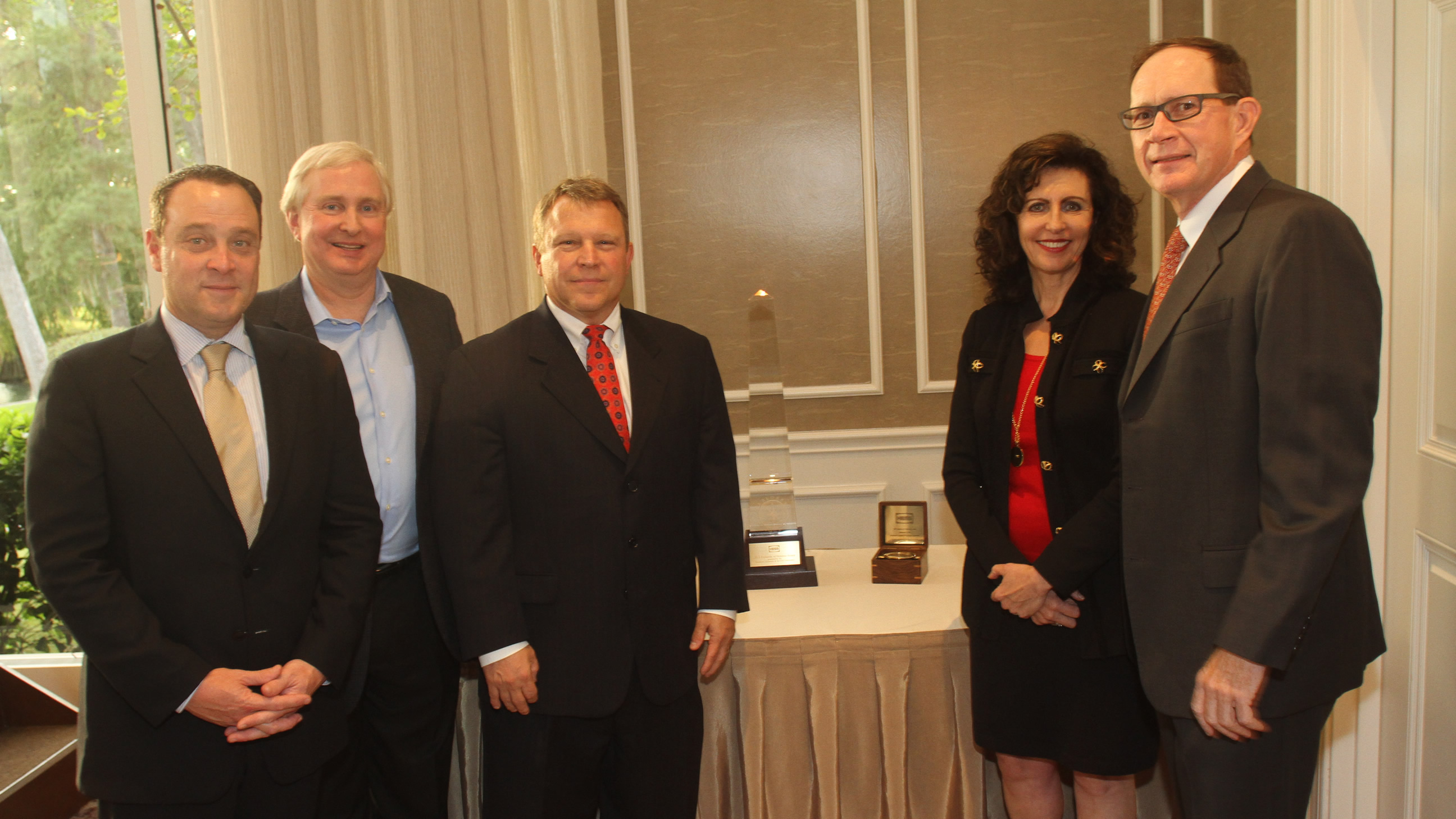 Hess Corporation received the 2015 Explorers of Houston Award for Leadership & Innovation