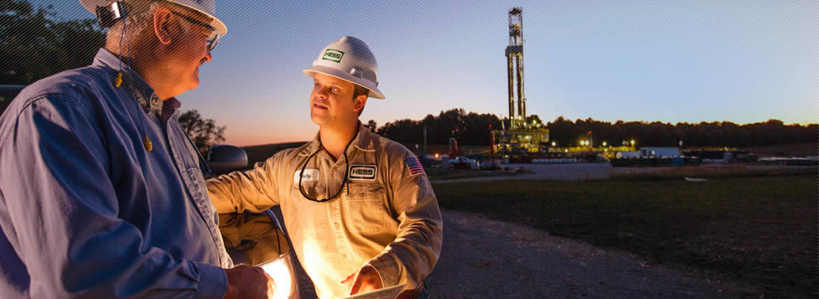 Hess Workers Developing New Energy Sources