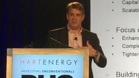 Bakken VP Gerbert Schoonman speaks at DUG Rockies