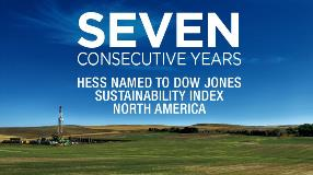 Hess named to DJSI seven consecutive years