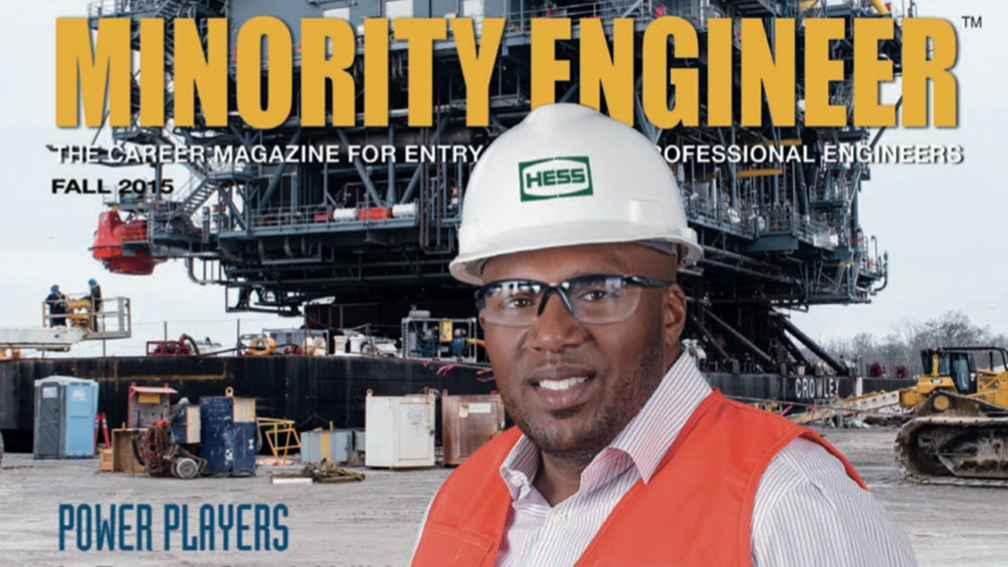 Jason Harry in Minority Engineer