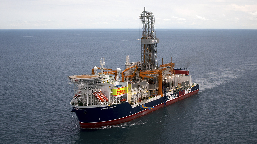 Stena Carron drill ship