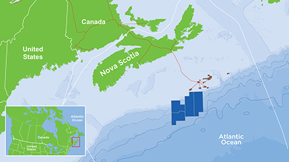 Exploration drilling in Nova Scotia is planned to commence in 2018.