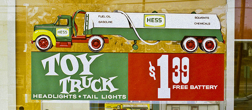Hess Toy Truck 1964